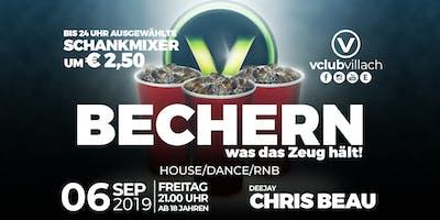 Bechern - was das Zeug hält presented by DJ Chris Beau