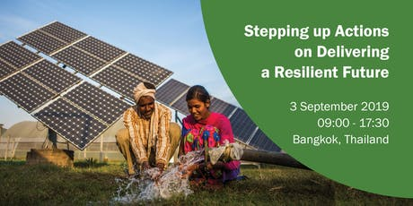 Stepping up Actions on Delivering a Resilient Future  tickets