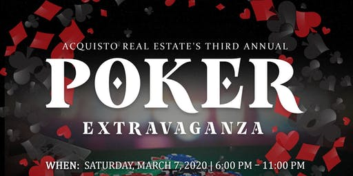 Acquisto Real Estate Poker Extravaganza 2020