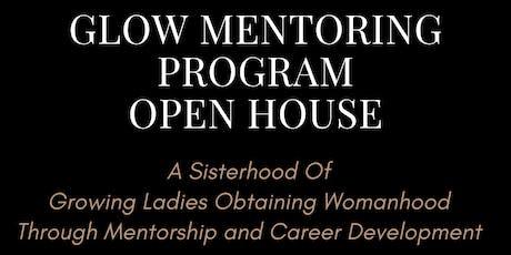 GLOW Mentoring Program Open House tickets