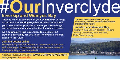 Inverkip and Wemyss Bay Locality Events tickets