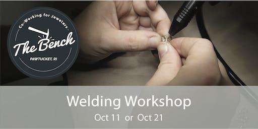 Welder Workshop - Pulse Arc Welding for Jewelers