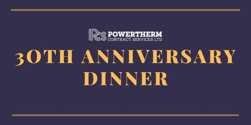 Powertherm 30th Anniversary Dinner