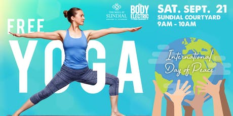 FREE International Day of Peace Yoga at Sundial St. Pete tickets