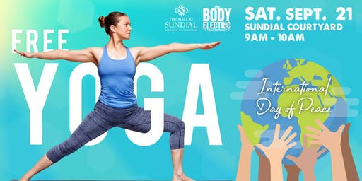 FREE International Day of Peace Yoga at Sundial St. Pete
