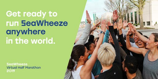 Seawheeze Virtual Half Marathon: Orange County