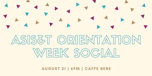 ASIS&T Orientation Week Social