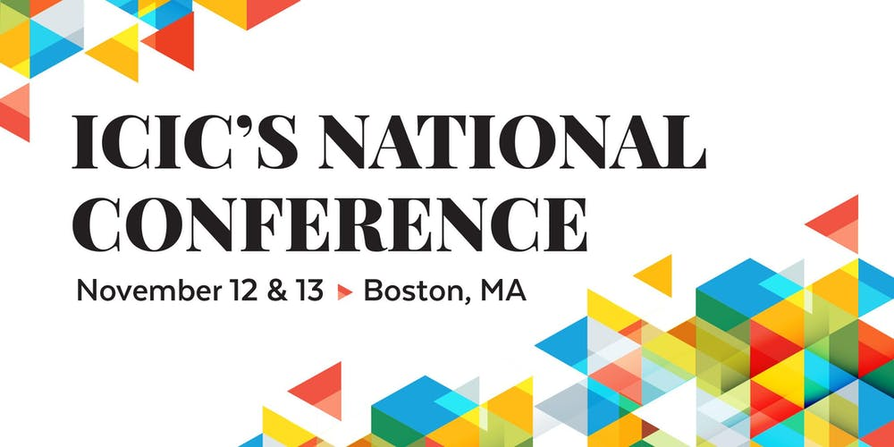 Conference In Boston Wednesday November >> Icic S 2019 National Conference