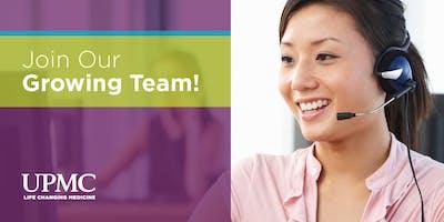 UPMC Health Plan Customer Service Career Fair