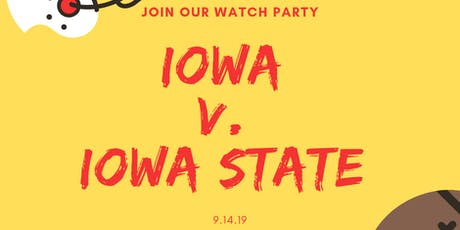 Iowa/Iowa State Watch Party Event in Iowa City tickets