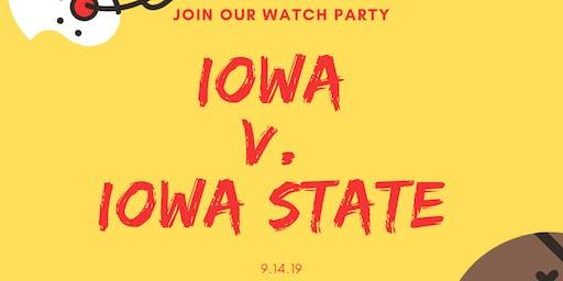 Iowa/Iowa State Watch Party Event in Iowa City