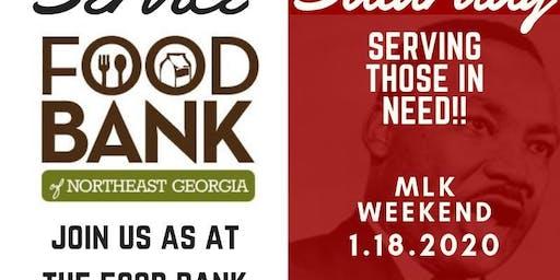 Service Saturday - MLK Weekend