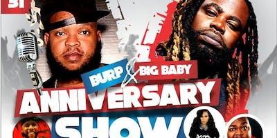 Burp & Big Baby Anniversary Show- (Charlotte NC)