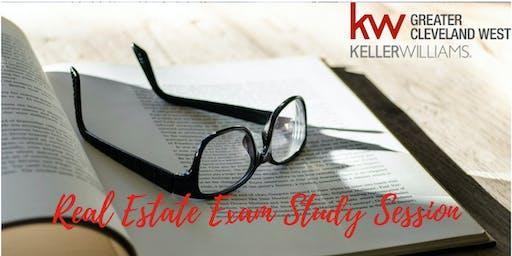 Real Estate Exam Study Session