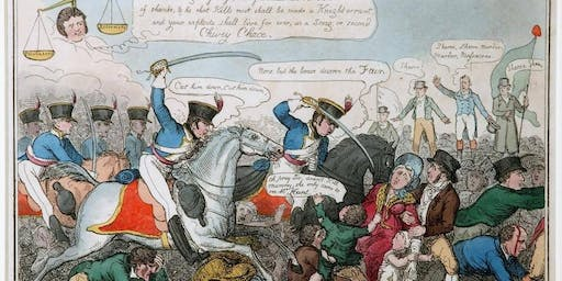 The March to Peterloo (Commemoration) by Ken Scally and Lawrence Hoy