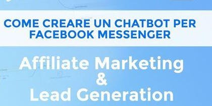 Come creare un chatbot su Facebook  per Affiliation Marketing