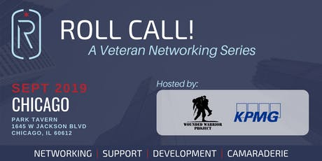 Roll Call! A Veteran Networking Event in Chicago tickets