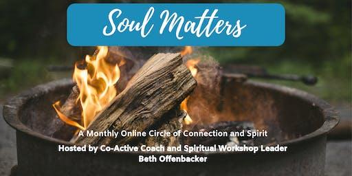 [Online Spiritual Gathering] SAMPLE SESSION Soul Matters Group