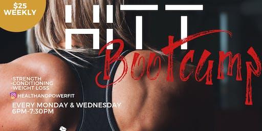 Health & Power Fitness HITT Bootcamp