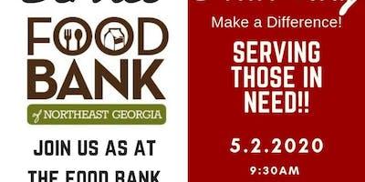 Service Saturday - Food Bank of NE Georgia