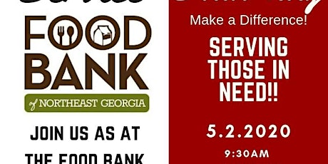 Service Saturday - Food Bank of NE Georgia tickets