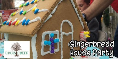Gingerbread House Building Party #2