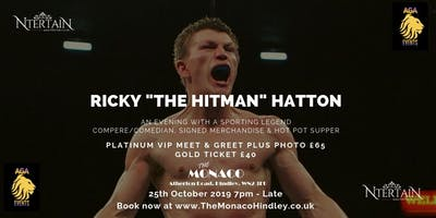 "An Evening with Ricky ""The Hitman\"" Hatton"