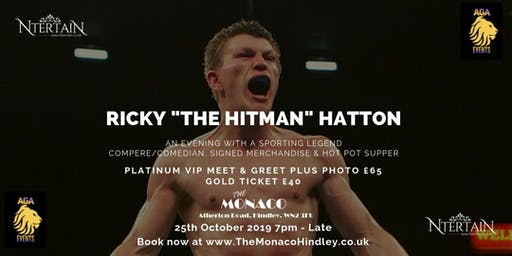 "An Evening with Ricky ""The Hitman"" Hatton"