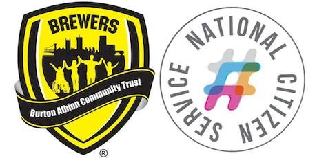 Burton Albion Community Trust - NCS Graduation Wave 3 Summer 2019 tickets