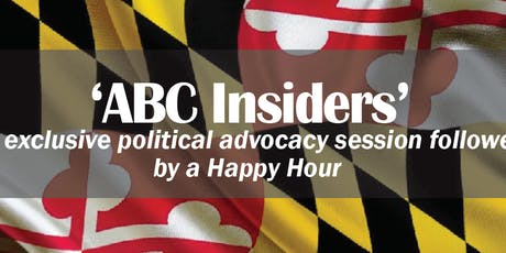 'ABC Insiders' an exclusive political advocacy session and Happy Hour tickets