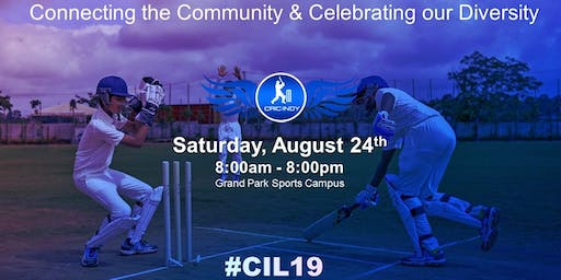 CRICINDY LEAGUE 2019 Registration and Sponsorships