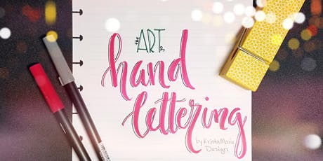 The Art of Hand Lettering 4 Week Workshop - Monday tickets