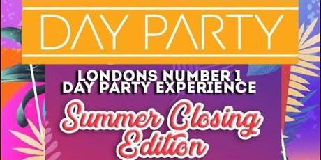 DAY PARTY - CARGO SHOREDITCH tickets