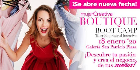 Mujer Creativa Boutique Boot Camp Enero 2020 tickets