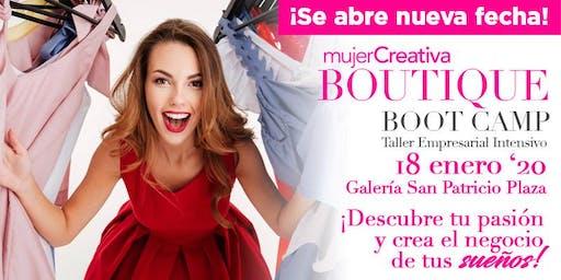 Mujer Creativa Boutique Boot Camp Enero 2020
