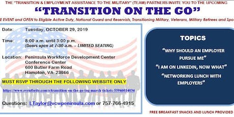 Transition On The Go (TOG) - October 2019 tickets