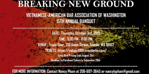 VABAW 15th Annual Banquet