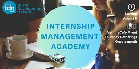 Building an internship program - a TDN Internship Management Workshop tickets