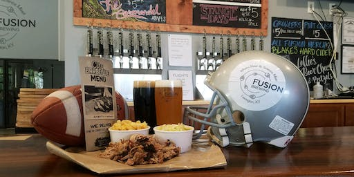 Fusion Brewing's 1st Annual NFL Fantasy Draft Special