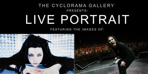 The Cyclorama Gallery at Soundwars Studios Presents: Live Portrait