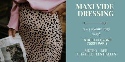 Maxi Vide-dressing