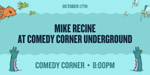 Mike Recine at The Comedy Corner Underground