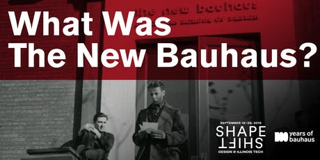 What Was The New Bauhaus? tickets