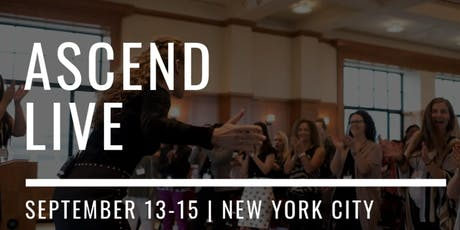 ASCEND LIVE 2019: For Female Online Entrepreneurs Committed to an Impact tickets