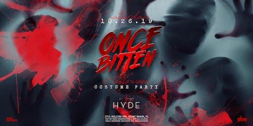 Once Bitten Halloween Costume Party