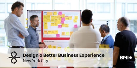 1 Day Bootcamp: Design a Better Business - NYC 2019 tickets