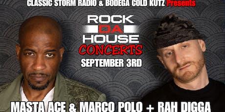 Masta Ace, Marco Polo, Rah Digga tickets