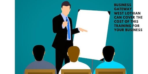 Presenting With Confidence (Open to West Lothian businesses only)