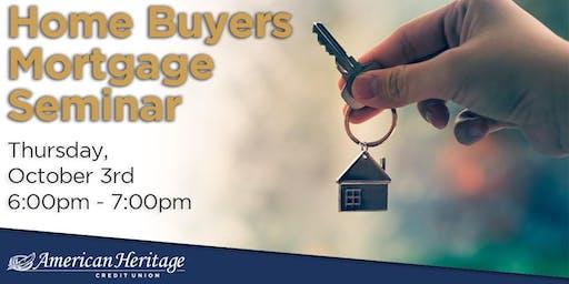 Home Buyers Mortgage Seminar