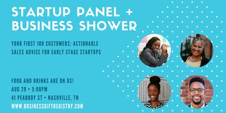 Startup Panel + Nodat Business Shower tickets